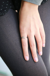New Fashion Copper Jewelry Women's Ring Best Gift!