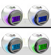 Load image into Gallery viewer, Creative Colorful Color Night Lights Alarm Clock