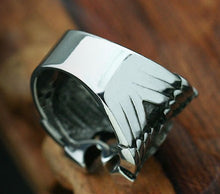 Load image into Gallery viewer, Holy Spirit cross the fine men and women of titanium steel Ring