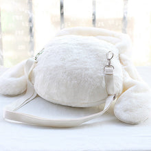 Load image into Gallery viewer, Fluffy Rabbit Ears Bow Handbag Shoulder Bag