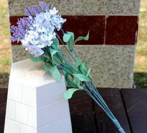 1PCS Bouquet Fake Artificial lavender Flower Home Wedding Party Decoration