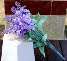Load image into Gallery viewer, 1PCS Bouquet Fake Artificial lavender Flower Home Wedding Party Decoration