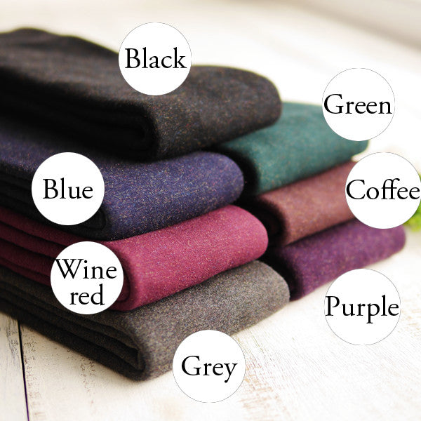 Winter Warm Mirco Velvet Cotton Colorful Stockings Tights