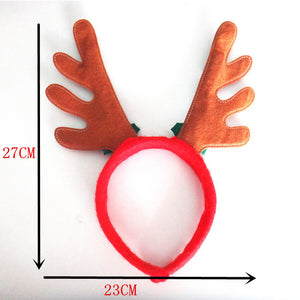 Christmas Reindeer Headband Party Decor