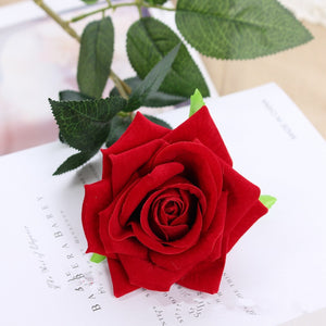 1PCS Bouquet Fake Artificial rose Silk Flower Home Wedding Party Decoration