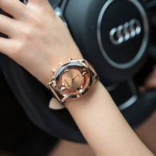 Load image into Gallery viewer, Korean fashion butterfly big dial ladies watch