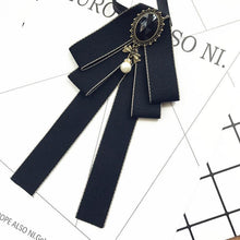 Load image into Gallery viewer, Bow tie stewardess professional bow tie ribbon bow tie bow tie British college style bow tie