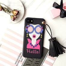 Load image into Gallery viewer, New 2017 Cute tassel Women Girl Phone Cases For Apple iPhone 6/6s/7 plus