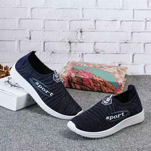 Load image into Gallery viewer, Single shoes men casual shoes flat old Beijing shoes a pedal comfortable breathable shoes