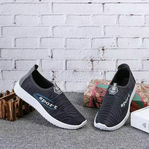 Single shoes men casual shoes flat old Beijing shoes a pedal comfortable breathable shoes
