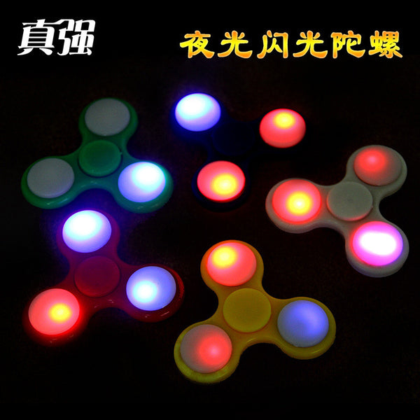 360 finger spinner Anti-Anxiety lanterns louvers led luminous glow gyroscope toys colorful colorful camouflage fingertips gyro