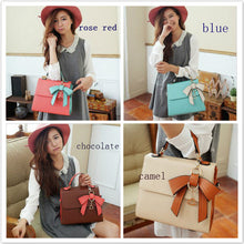 Load image into Gallery viewer, Korea dimensional bow handbag new
