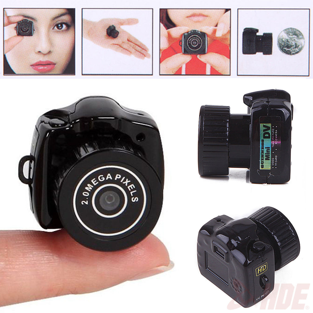 Smallest Mini Camera Camcorder Pinhole DVR Hidden Digital Video Recorder Webcam SLR Gift Small Camera