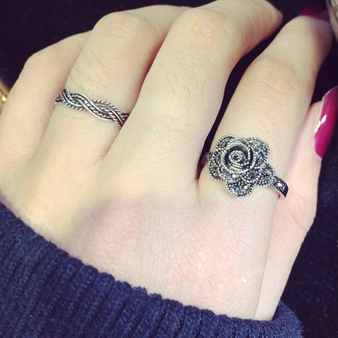 flower ring tattoos images galleries. Black Bedroom Furniture Sets. Home Design Ideas