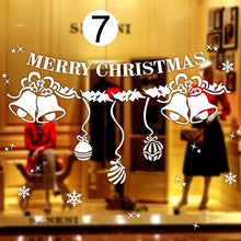 Load image into Gallery viewer, Christmas Decoration Window Decal Stickers