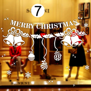 Christmas Decoration Window Decal Stickers
