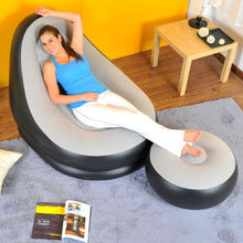 Load image into Gallery viewer, Lazy Recliner Inflatable Sofa Two Pcs Set Living Room Furniture