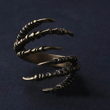 Load image into Gallery viewer, Halloween Punk Adjustable Claws Ring