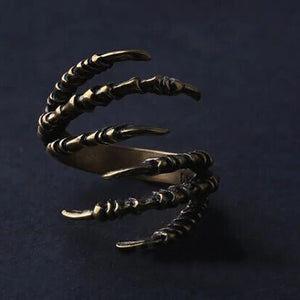 Halloween Punk Adjustable Claws Ring