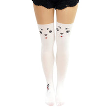 Load image into Gallery viewer, Comic Anime Gintama Sadaharu Dog Thigh High Tights