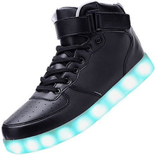 Load image into Gallery viewer, For Men 8 Colors Led Lights Up High Top Glowing Luminous Shoes