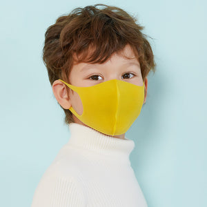 Children's sponge mask for children non disposable three-dimensional washable 3D dust proof and breathable 6pcs