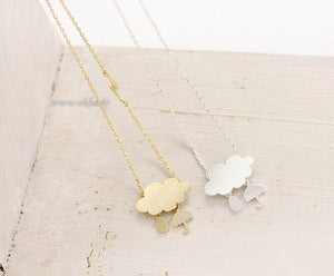 Sweet Cloud Pendant Necklace
