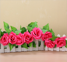 Load image into Gallery viewer, 1PC Flower Fake Artificial Vine Hanging Garland Wedding Home Decoration