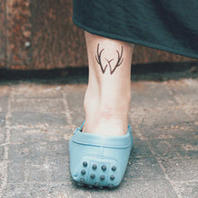Load image into Gallery viewer, Antlers Temporary Tattoos