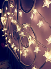 Load image into Gallery viewer, 5 Meters Warm White LED Stars String Lights (Battery Design) Christmas Decor