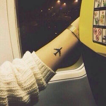Load image into Gallery viewer, Airplane Temporary Tattoos