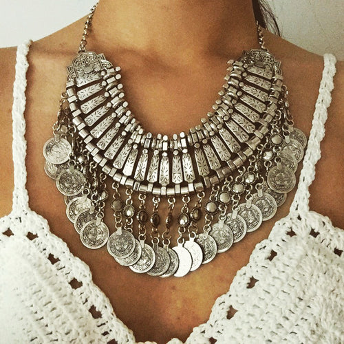 Bohemian Statement Necklace