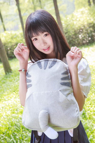 Kawai Totoro Cat Tails Backpacks