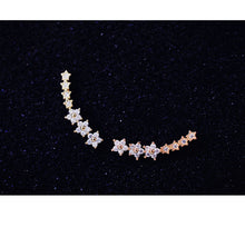 Load image into Gallery viewer, Stunning Zicron Stars Stud Earrings