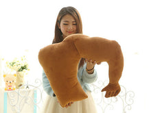 Load image into Gallery viewer, Boyfriend Muscle Man Body Arm Plush Cotton Pillow Creative Bolster Gift 58*48cm