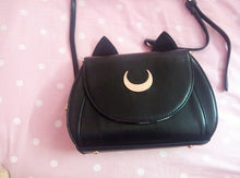 Load image into Gallery viewer, Cute Sailor Moon Luna Cat Shoulder Bag