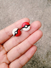 Load image into Gallery viewer, Handmade Pokemon Sprite Balls Earrings