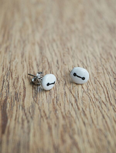 Load image into Gallery viewer, Handmade Big Hero 6 Baymax Earrings