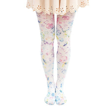 Load image into Gallery viewer, Harajuku Diamond Print Tights