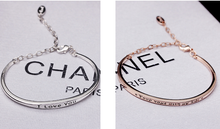 Load image into Gallery viewer, Romantic Letters Adjustable Bracelet