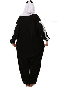 Skeleton Cartoon Pajamas Halloween Costume Cosplay Homewear Lounge Wear