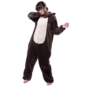 Chipmunk Pajamas Halloween Costume Cosplay Homewear Lounge Wear