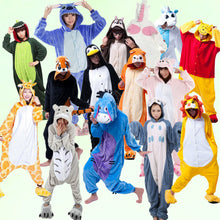 Load image into Gallery viewer, Chipmunk Pajamas Halloween Costume Cosplay Homewear Lounge Wear