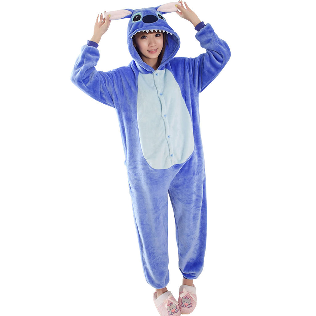 Stitch Pajamas Halloween Costume Cosplay Homewear Lounge ...
