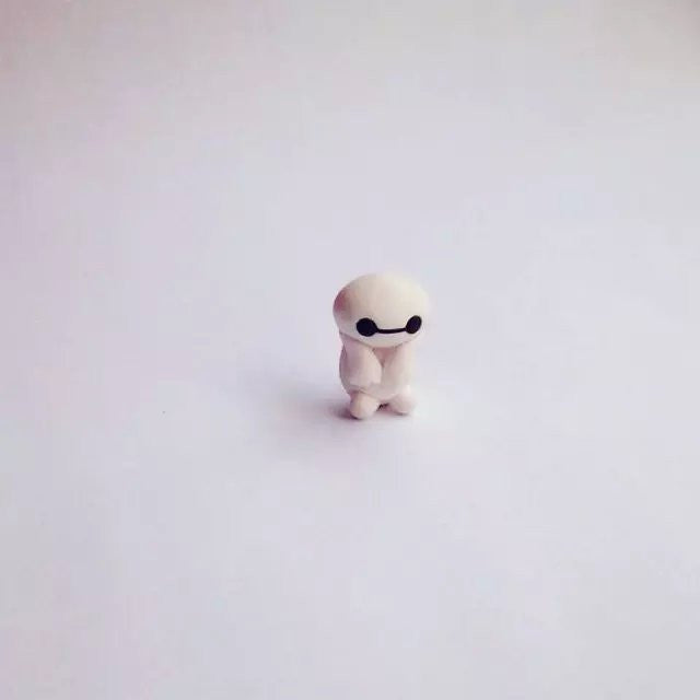 Handmade Big Hero 6 Two-part Baymax Earrings