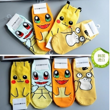 Load image into Gallery viewer, Anime Pokemon Pikachu Nintendo Character Socks Pocket Monsters Women Kid Socks(the size number is for the color style)