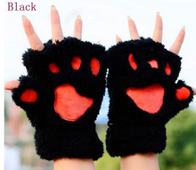 Load image into Gallery viewer, Womens Lovely Cat Claw Paw Plush Glove Gift