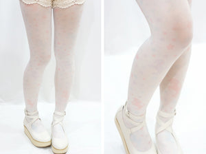 Harajuku Unicorn Star Print Tights