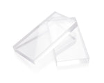 Made in the USA Thick Heavy Clear Acrylic Eyelash Strip Application Tray