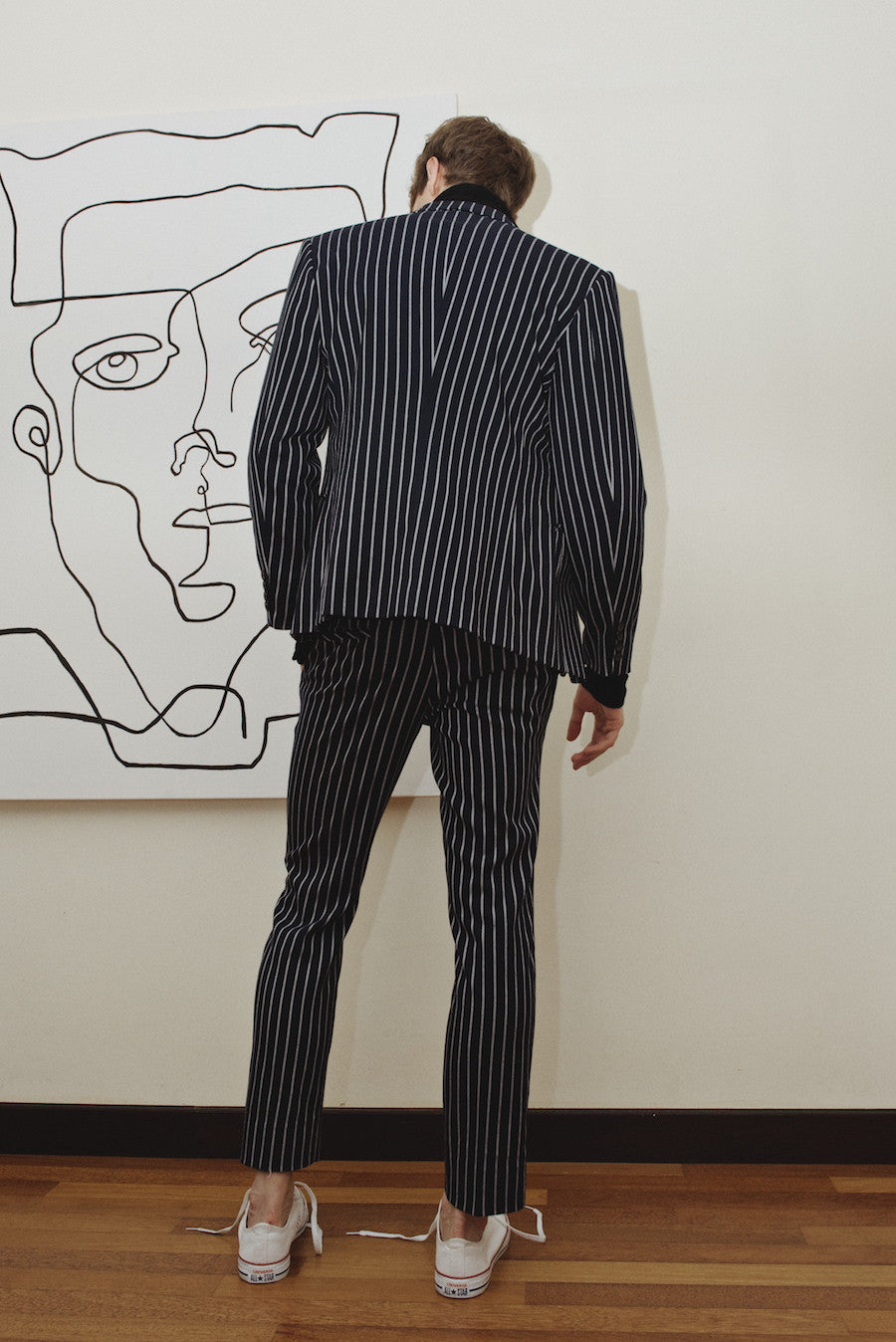 Sean Striped Suit Blazer